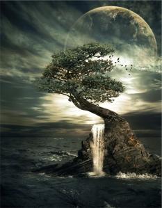 Moon_light__waterfall_by_maariusz