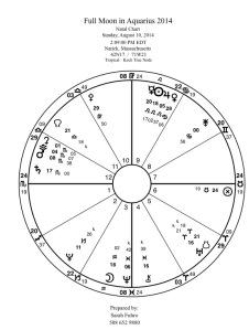 full Moon in Aquarius 2014