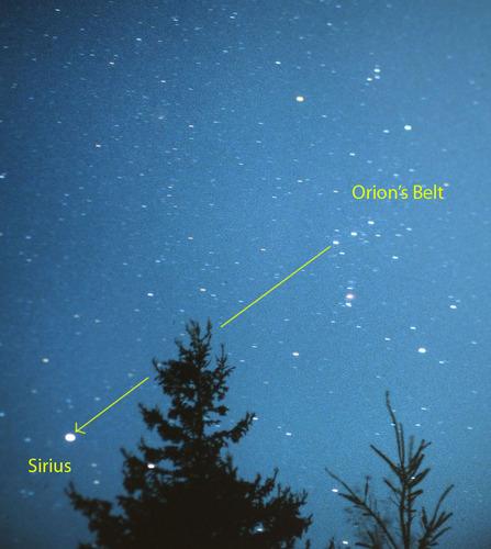 OrionSirius
