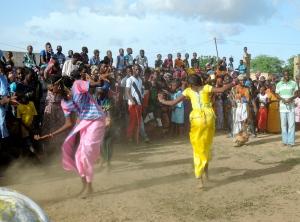 Senegalese dancers