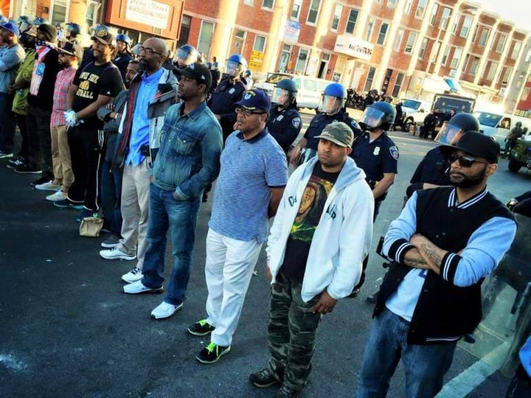 protestors in baltimore