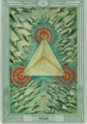 thoth triangle with wings