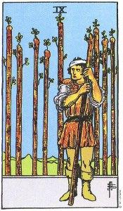IX of Wands