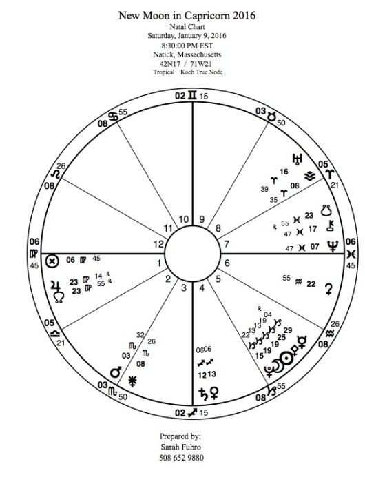 New Moon in Capricorn 2016