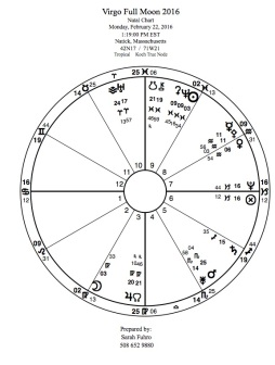 Full Moon in Virgo 2016