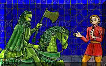 the topic of achieving loyalty in the stories beowulf sir gawin and the green knight and camelot