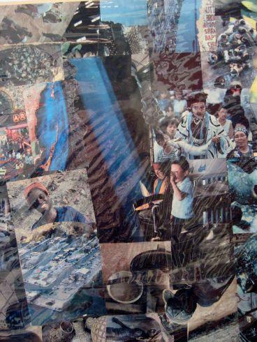 Shaman collage