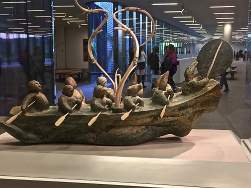 Inuit boat
