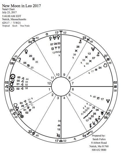 New Moon in Leo 2017