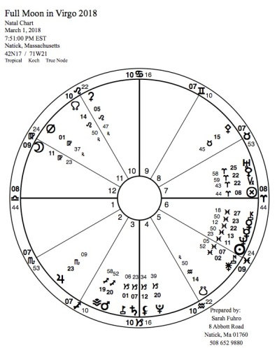 Full Moon in Virgo 2018