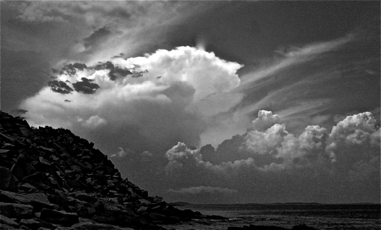 Halibut Pt storm clouds