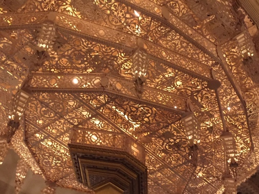Burning Man Temple ceiling
