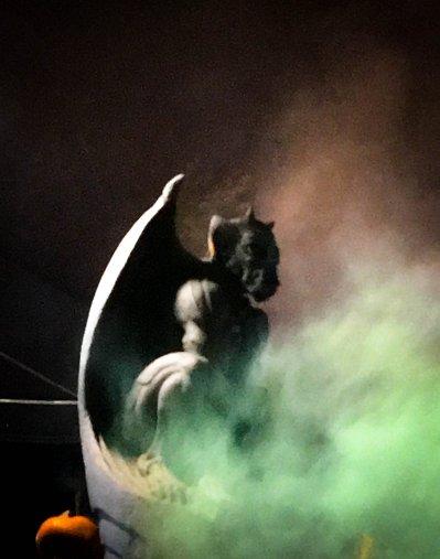 green Dragon in fog copy