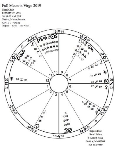 Full Moon in Virgo 2019 | Sarah Fuhro Star-Flower Alchemy