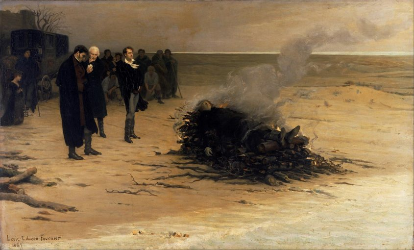 Louis_Edouard_Fournier_-_The_Funeral_of_Shelley_-_Google_Art_Project_sized