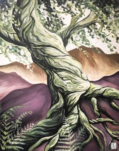 purple mtn ferns dancing tree BL