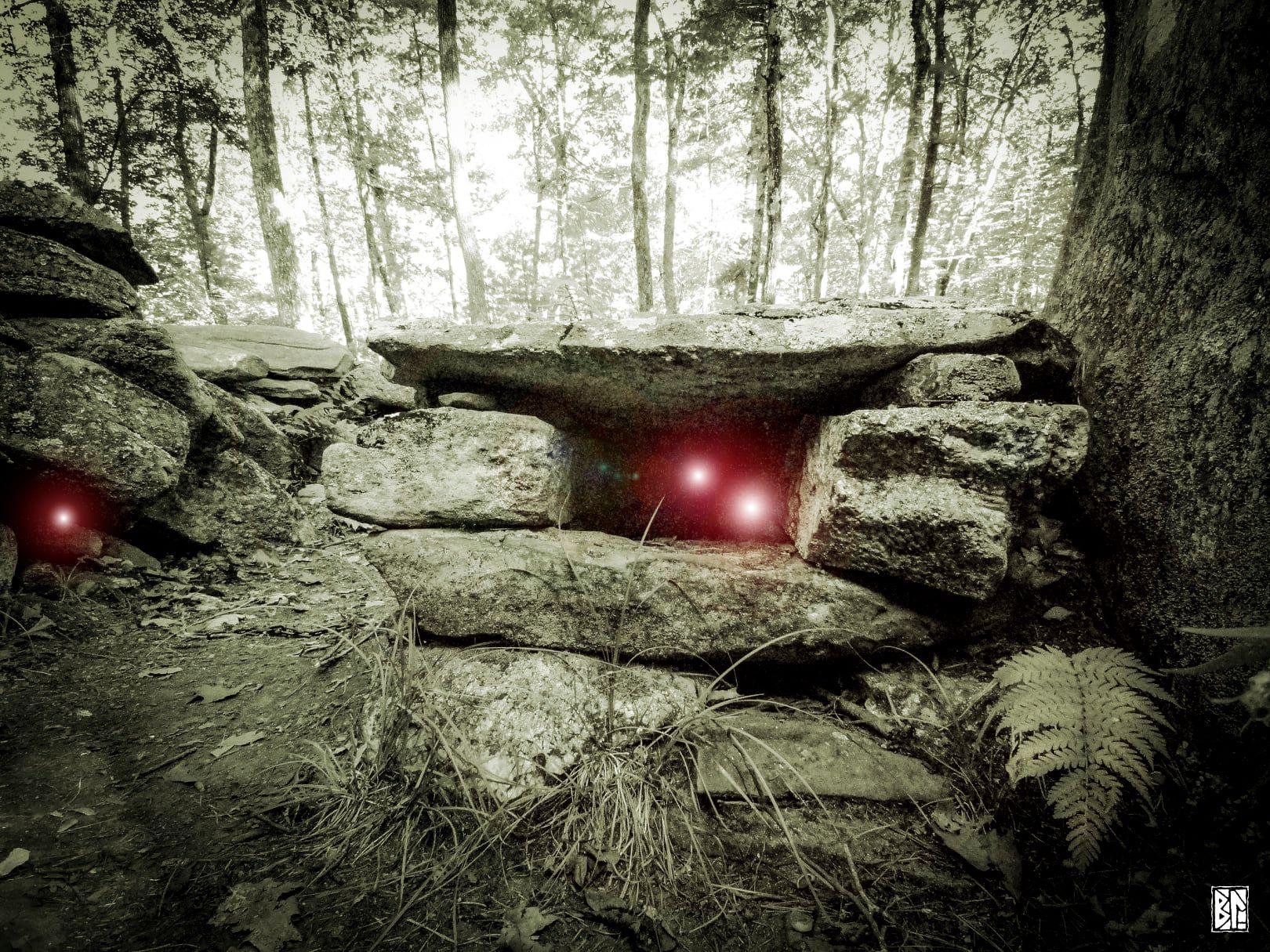 cave entry stonehenge bl